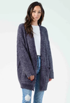 Ben Cardigan w/ Pockets - Gray