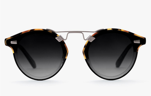 STL II Nylon Sunglasses - Havana to Black and Crystal