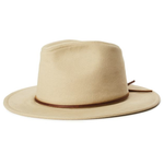 Wesley Cotton Fedora - Light Khaki