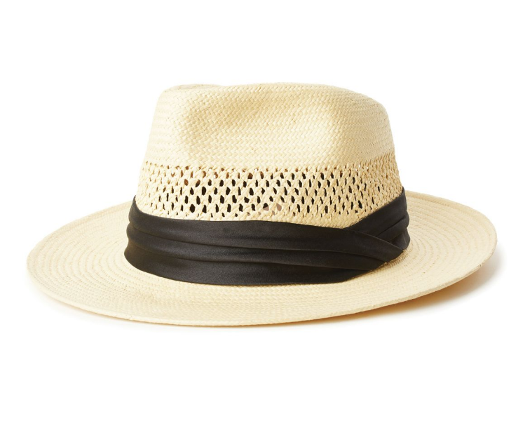 Goodman Straw Fedora - Tan