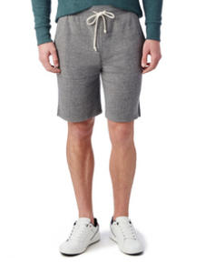 Eco Fleece Gym Short - Eco Grey