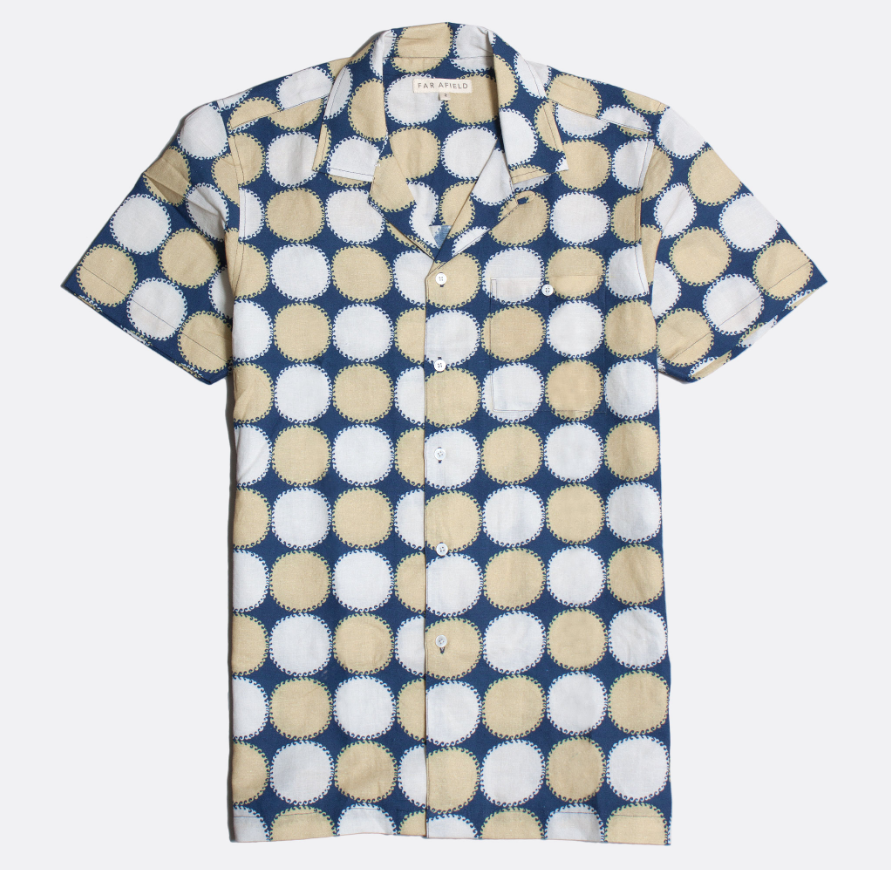 Selleck Shirt - Blazing Blue