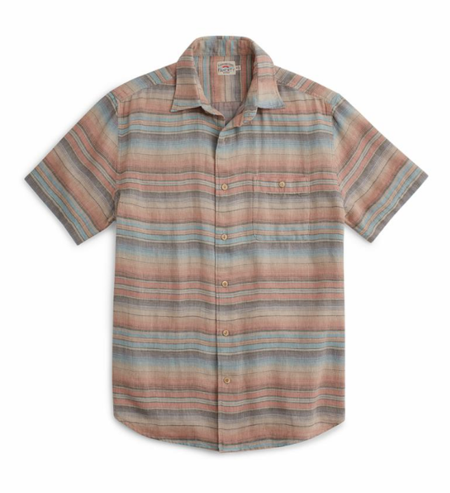 Short Sleeve Double Cloth Coast Shirt - Evening Playa