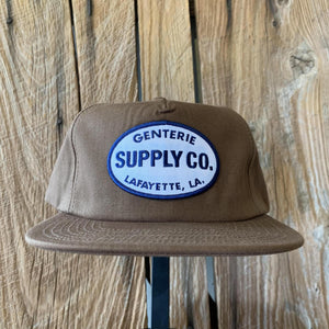 Genterie Supply Co. Ballcap - Brown