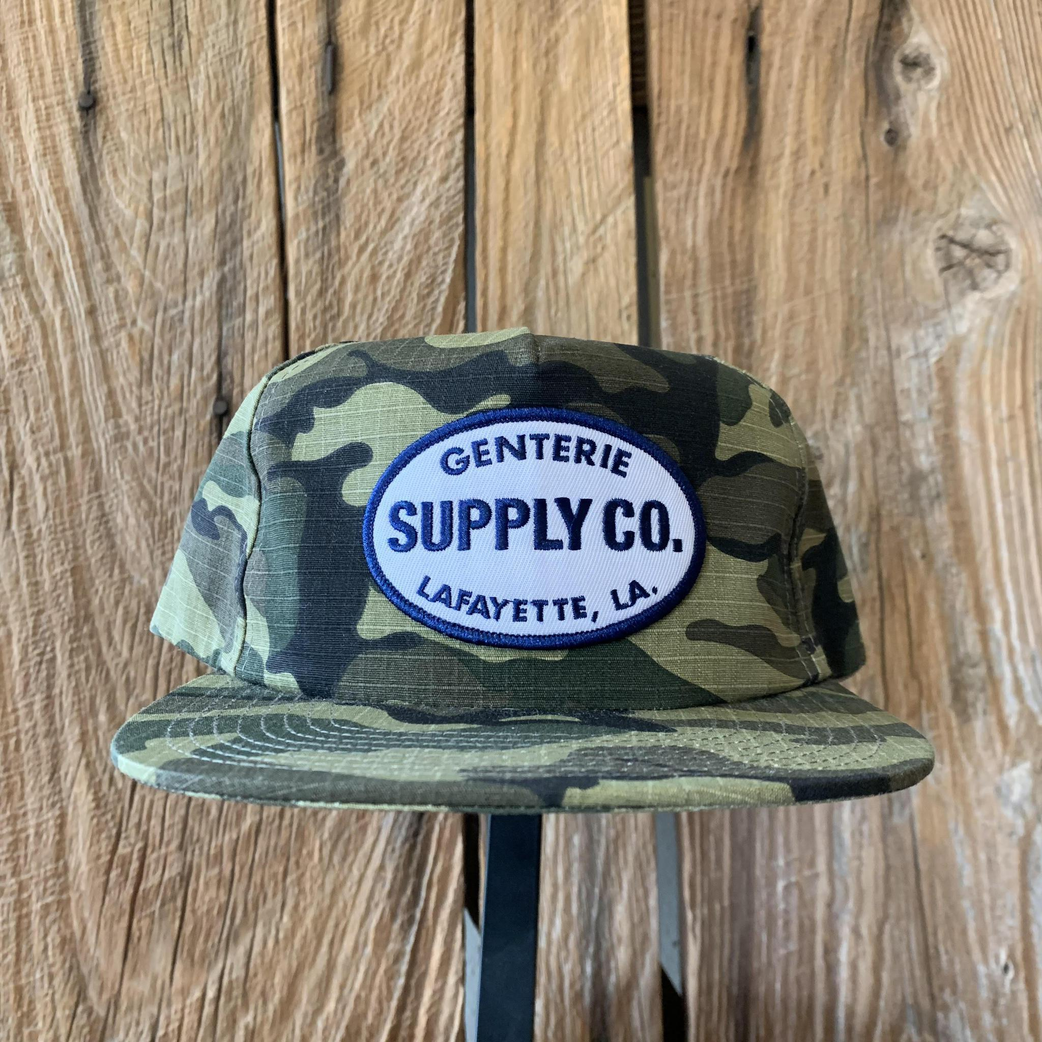Genterie Supply Co. Ballcap - Camouflage Ripstop