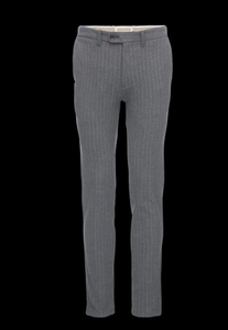 Thomas Dress Pant - Gray Stripe
