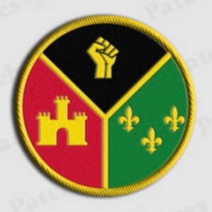 Acadiana Black Pride Patch