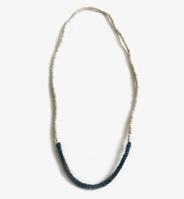 Trade Necklace - White Boro