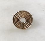 Labyrinth Ring - Bronze
