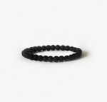 Earth Bracelet - Matte Black Onyx