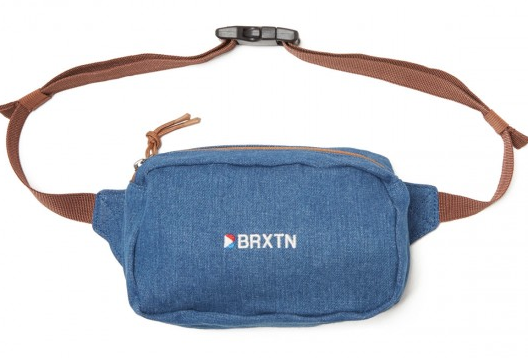 Stowell V Hip Pack - Blue Washed Denim