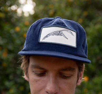 Pelican Patch Cord Hat - Navy