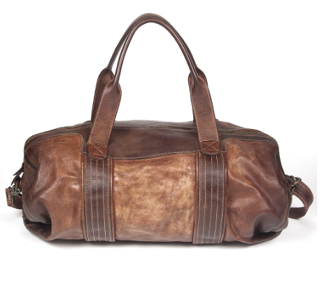 Klaver Bag - Camel Brown Leather