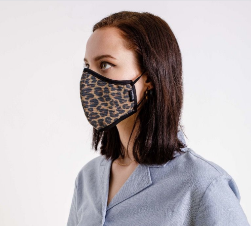 Antimicrobial Face Mask - Leopard
