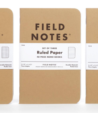Kraft Ruled Notebooks - Field Notes