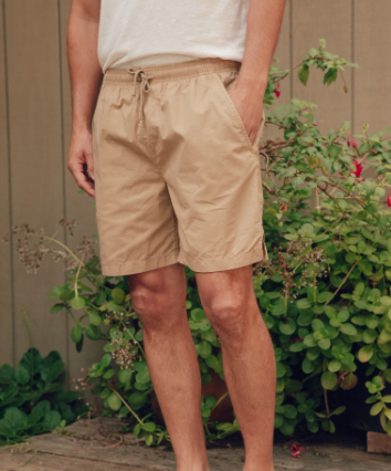 Summer Shorts - Tan Earth