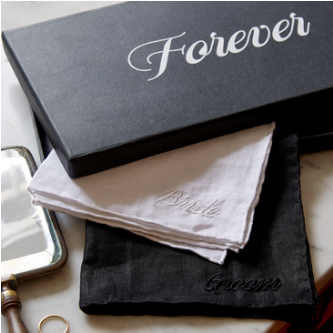Embroidered Handkerchiefs - Forever