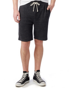 Eco Fleece Gym Short - Eco Black