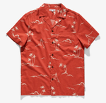 Cape Shirt - Burnt Red