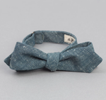 Extra Neppy Indigo Chambray Bow-tie
