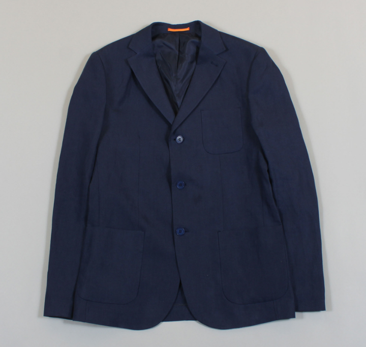 Carter Jacket - Navy Blue