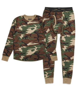 Underwear Set - Woodland Camo