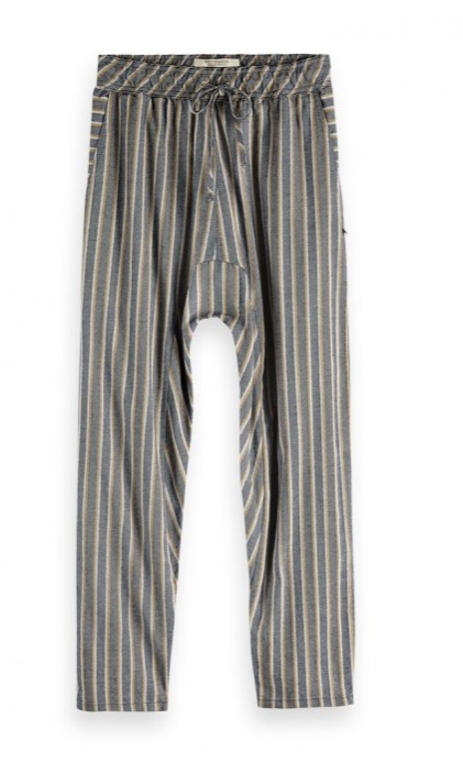 Striped Jacquard Pants