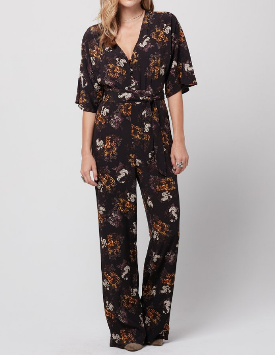 Maria Jumpsuit - Mazzy Floral Print