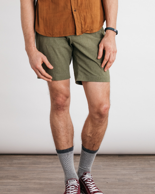 Norton Shorts - Olive Heather