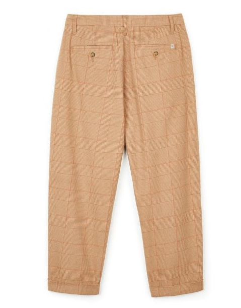 Aberdeen Trouser Pant - Khaki Plaid