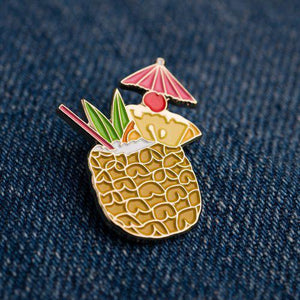 Cocktail Pin - Tiki