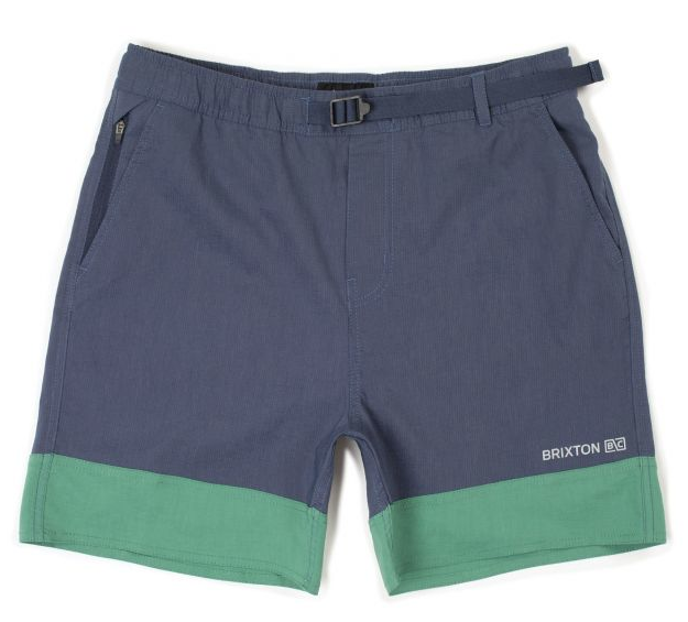 Cinch Crossover Short - Washed Navy/Fern