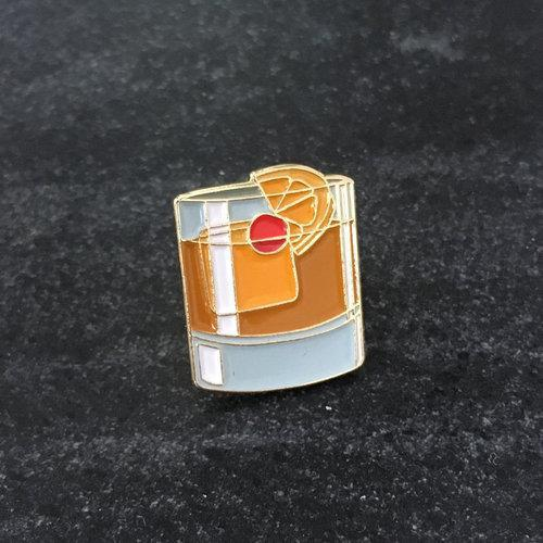 Cocktail Pin - Old Fashioned