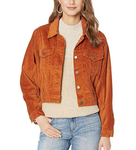 Future Vintage Trucker Jacket - Caramel Cafe