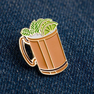Cocktail Pin - Moscow Mule
