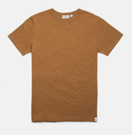 Basic Slub T-shirt - Almond