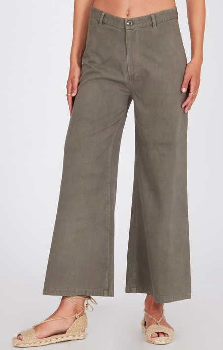 Dominga Pant - Moss