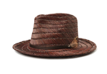 Crosby II Fedora - Brown/Brown