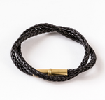 Flint Braid Bracelet - Black