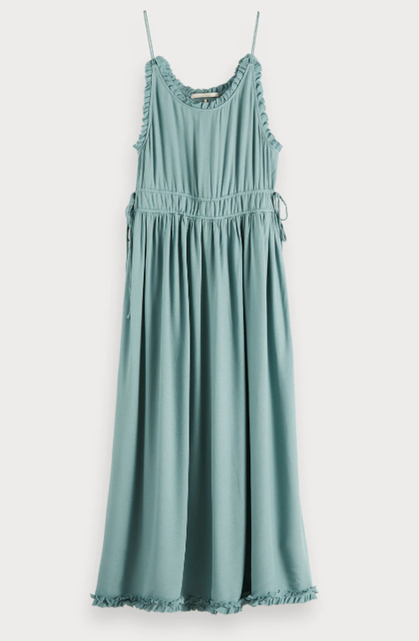 Midi Summer Dress - Sea Green