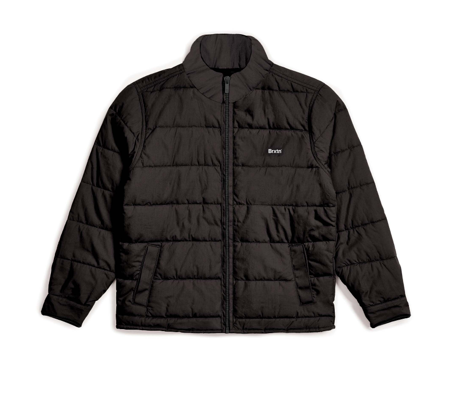Cass Puffer Jacket - Black