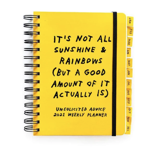 Unsolicited Advice 2021 Planner