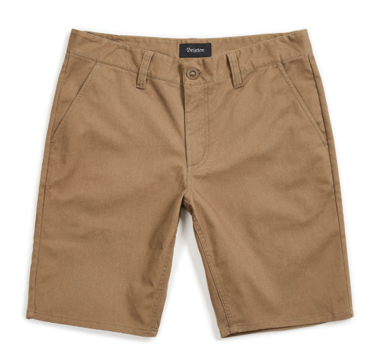 Toil II Hemmed Short - Dark Khaki