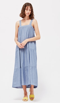 Sunflower Dress - Chambray