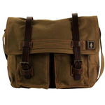 Haversack Messenger Bag - Swamp Green