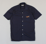 Embroidered Stachio Shirt - Navy