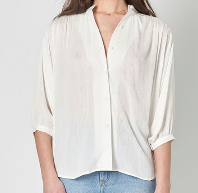 Monarch Blouse - White