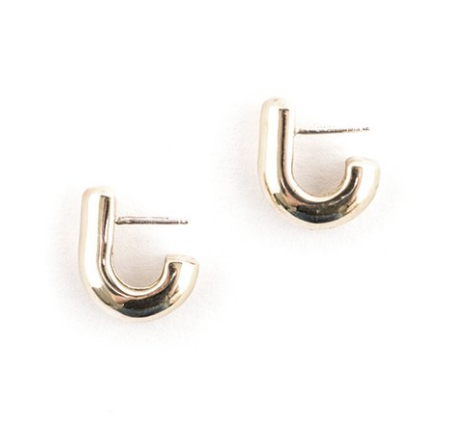 Victor Borge Earrings - Gold