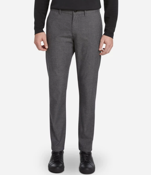 West End Pant - Grey Herringbone