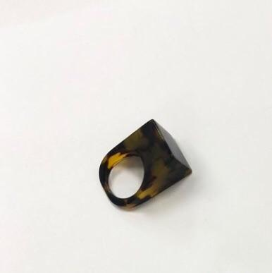Icon Statement Ring - Classic Tortoise